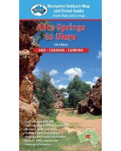 Alice Springs to Uluru Digital Map