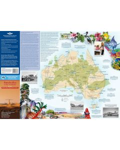 Australia - A Big Country Laminated 700 X 500 mm
