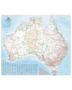 Australia Large Laminated 875 X 1000 mm