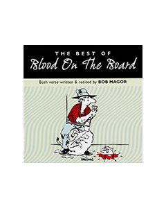 Blood on the Boards - Poetry by Bob Magor - CD