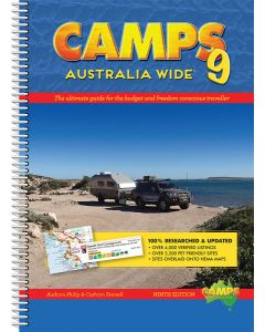 Camps Australia Wide 9 - The Ultimate Guide for The Budget and Freedom Conscious Traveller
