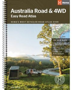 Australia Road and 4WD Easy Read Atlas