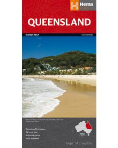 Queensland State Handy Map